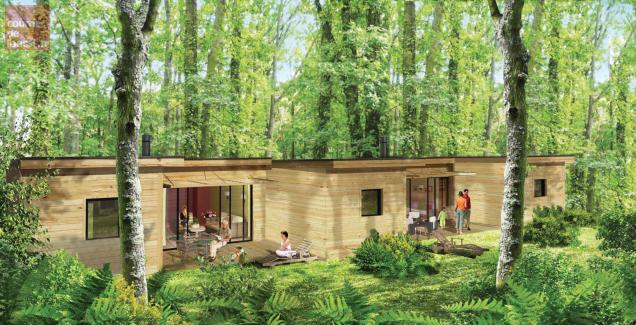 Plus de 500 cottages vendus au futur Center parcs