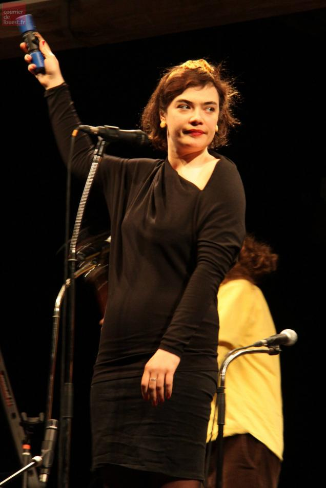 Rosemary Standley, la chanteuse de Moriarty, se produira le 16 mai.