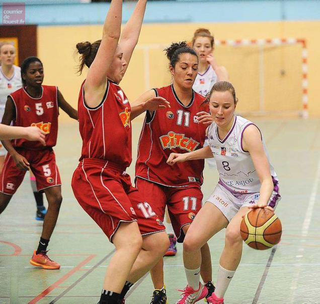 Basket. Nationale 2 féminine : les Choletaises s'imposent face à l'UFAB (54-48)