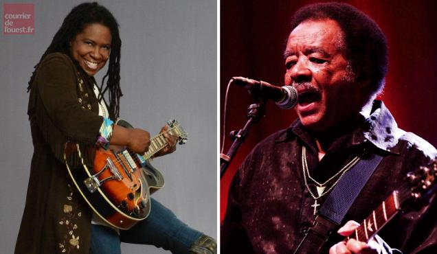 Ruthie Foster et Jimmy Johnson vont combler de joie les amateurs de blues.