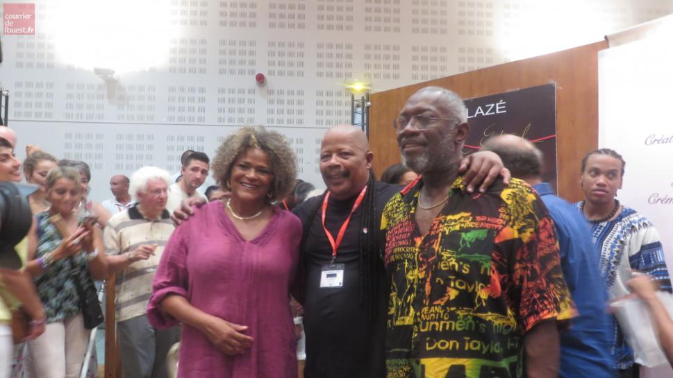 Trélazé. Kassav en after salle Aragon