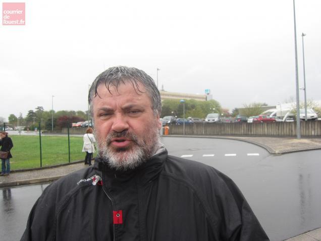 Jean Penigaud, syndicaliste FO, était parmi les manifestants.