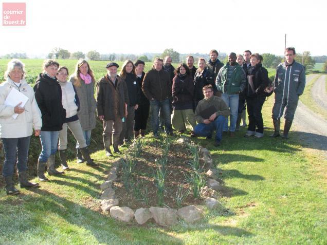 15 personnes suivent actuellement un nouveau stage élaboré au Centre de formation agricole de Segré