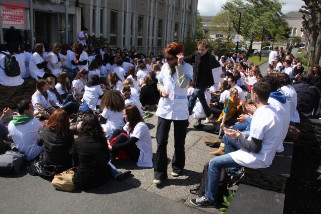 Les étudiants infirmiers attendent des réponses concrètes de la part des financeurs, Etat et Région en tête