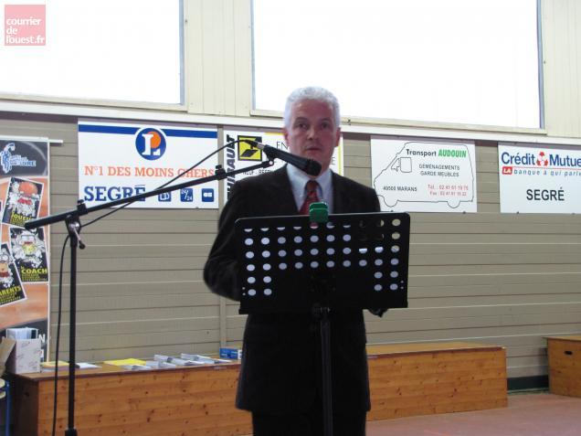 Benoît Patier, président de l'Association de sauvegarde de l'église