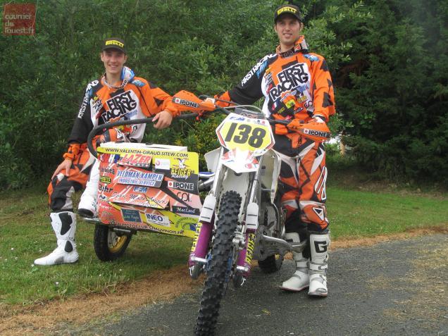 Nicolas Musset et Valentin Giraud forment un équipage très soudé.
