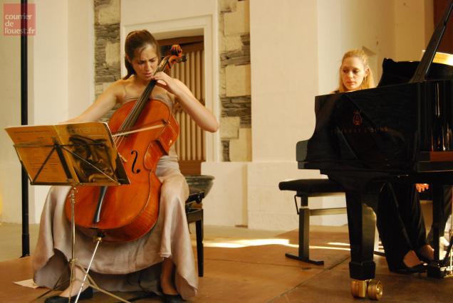 Avec Camille Thomas et Béatrice Berrut, la virtuosité n'a pas attendu le nombre des années.