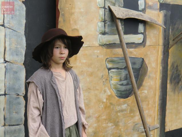 Nino Bodineau est le nouvel acteur émygeois qui interprétera le rôle de Jacquou enfant.
