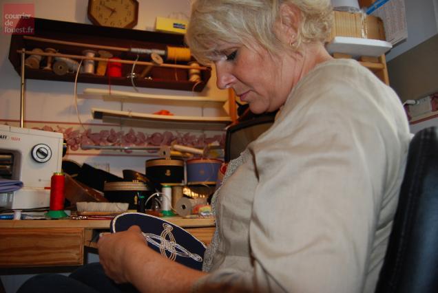 Marie Saramito est l'une des dernières képissières de France