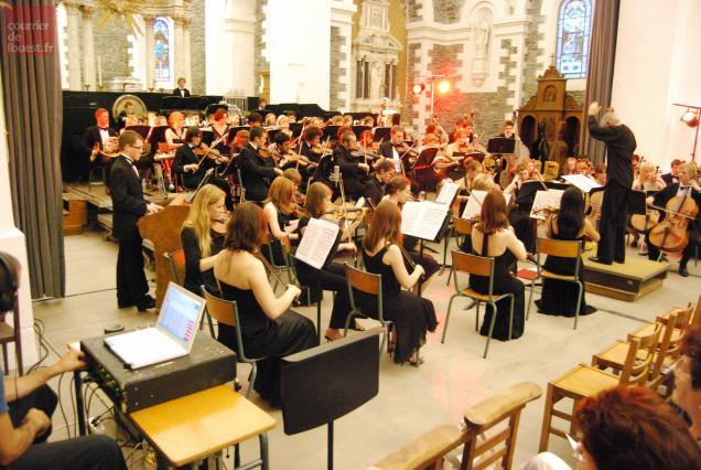 Les jeunes musiciens du Leicestershire se produisent à 21 heures samedi 21 juillet dans l'église de Trélazé.