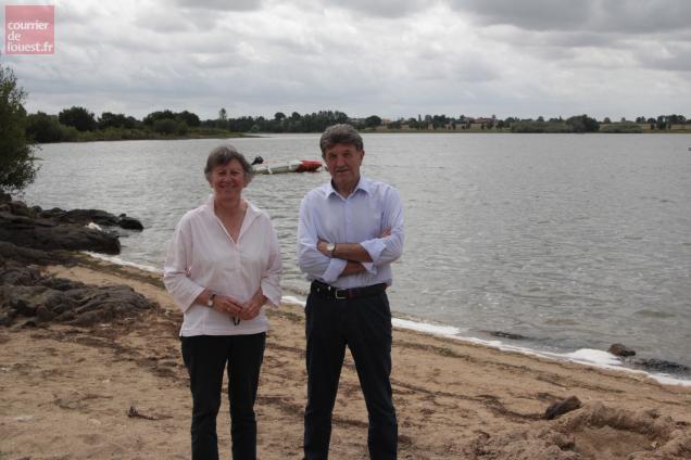 Dominique Régnier et Claude Millet, les deux seuls présidents de l'association Eole 79.