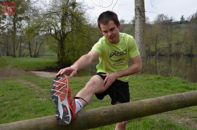 Clément Mousset s'entraîne régulièrement afin d'être fin prêt le jour J.