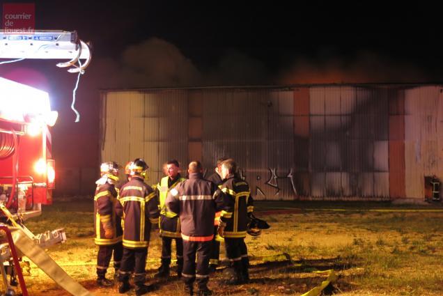 Les pompiers de Mauzé-sur-le-Mignon et Airvault mobilisés une bonne partie de la nuit.