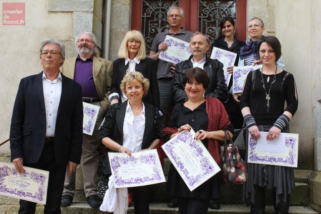 La remise de prix aux lauréats du 34e saon a lieu, dimanche matin, dans la cour du château.
