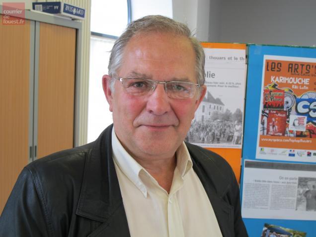 Le président Thierry Vrignaud.