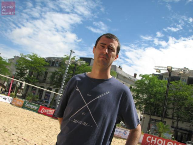 Beach Leclerc Cholet volley