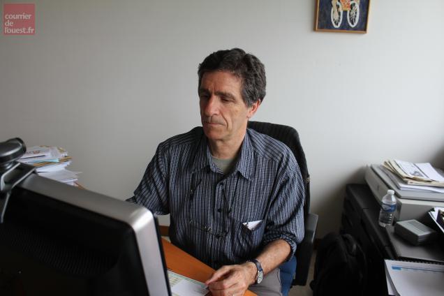 Bernard Arru, directeur des Ateliers du Bocage, prévoit une fin d'année difficile.