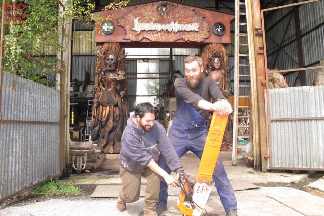 Les artistes Rame et Jimmix.