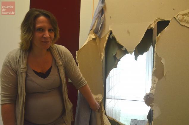 Il ya un an, les cambrioleurs ont détruit un mur pour s'introduire dans le restaurant.