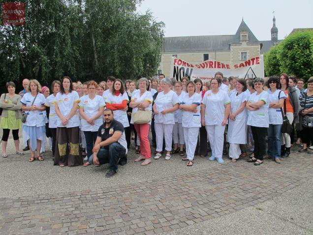 Personnel hospitalier des établissements de santé Baugeois Vallée