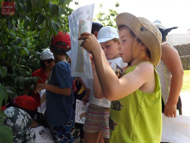 Les petits moussaillons inscrits pour la chasse au trésor organisée par l'office du tourisme cherchaient le trésor