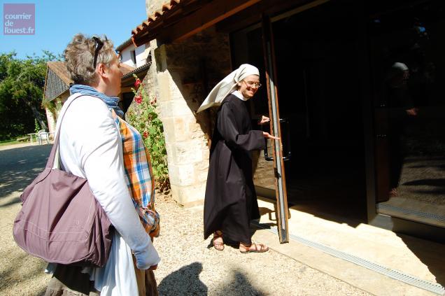 """Quelque 120 """"retraitants"""" viennent au monastère chaque mois. Photo CO"""