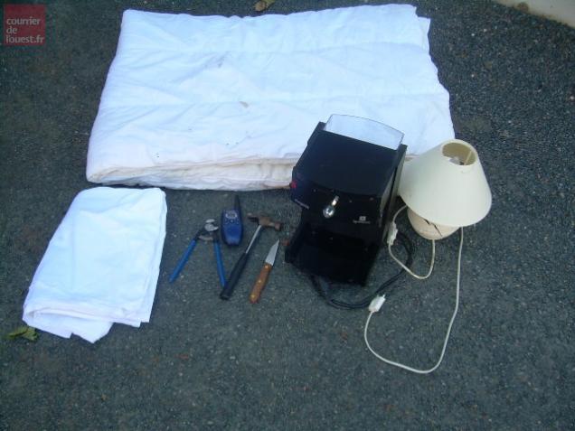 Le butin a été retrouvé par les gendarmes.
