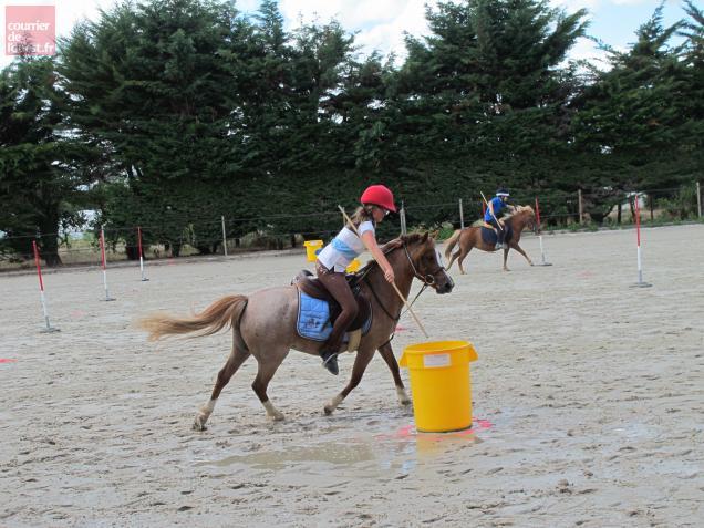 Concours de pony-games ce week-end à l'Etrier, à Corné.