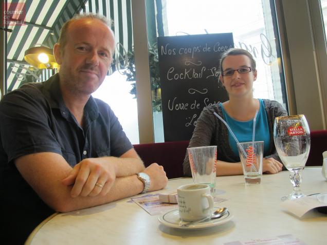 Romuald Cherdo, psychologue, et Virginie Deshaies, coordinatrice au sein de l'association Relais & Présence.