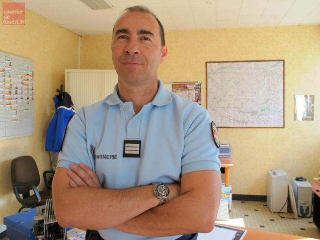Le capitaine Guy Albanèse remplace depuis le 1eraoût Stéphane Rappailles.