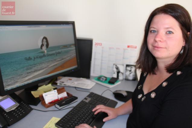 Adrienne Zmiko, en venant travailler à Bressuire, n'a pas l'impression de s'isoler du reste du monde…