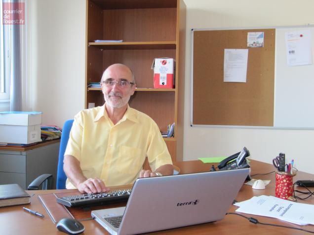 Dominique Bossard, nouveau directeur de l'IND-E