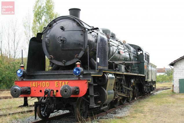 La locomotive va être bientôt restaurée en Allemagne.