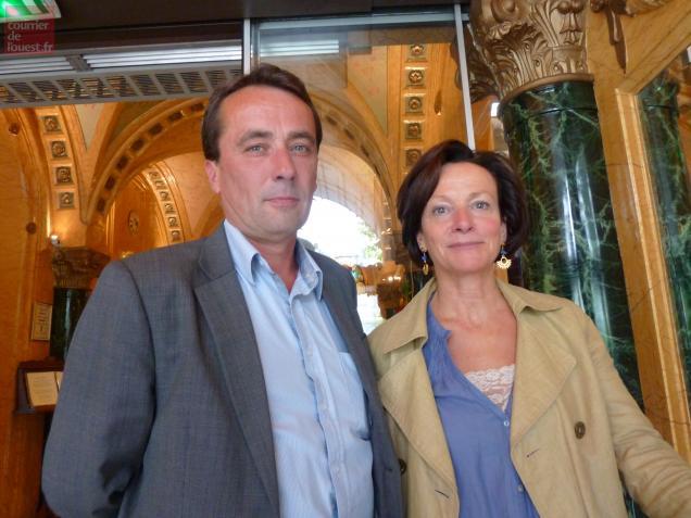 Me Gilles Pedron et Mme le bâtonnier Claudine Thomas
