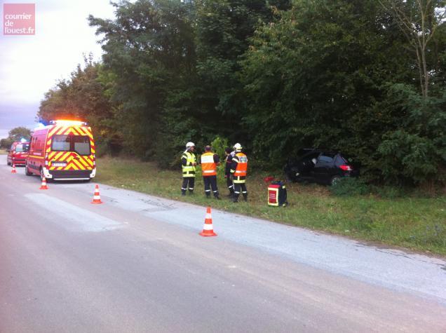 L'accident a fait deux blessés légers.