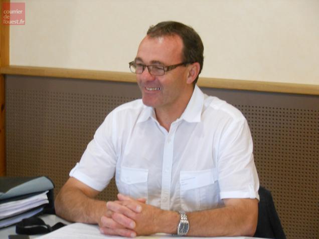 Gérard Chevalier, maire de Beaupréau.