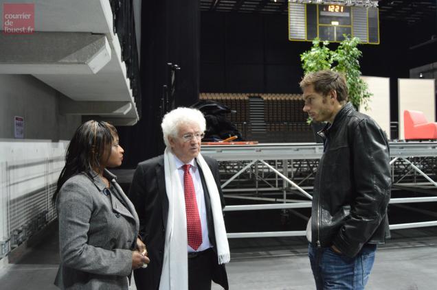 Nicolas Mahut a dit à Marc Goua et à Sokhna Fournier sa détermination à soutenir