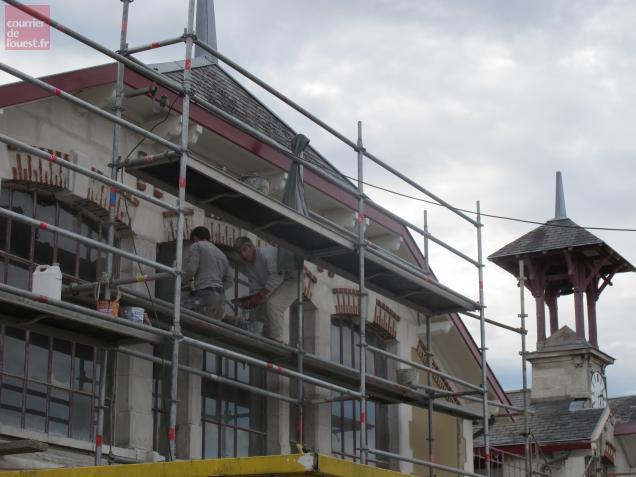 Le chantier de réhabilitation a été lancé en avril 2013.