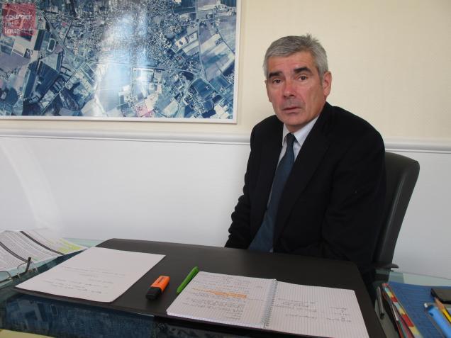Jean-Charles Taugourdeau, maire de Beaufort-en-Vallée briguera un nouveau mandat en mars prochain.