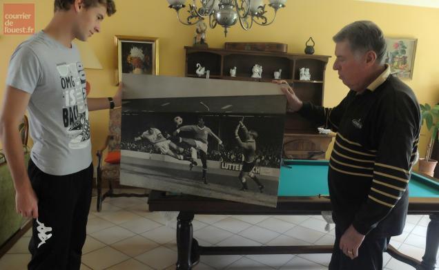 Flavien Morisseau est admiratif de la longue carrière menée chez les professionnels par son grand-père, Michel Stiévenard