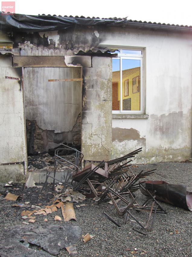 L'incendie a été maîtrisé par les pompiers du secteur