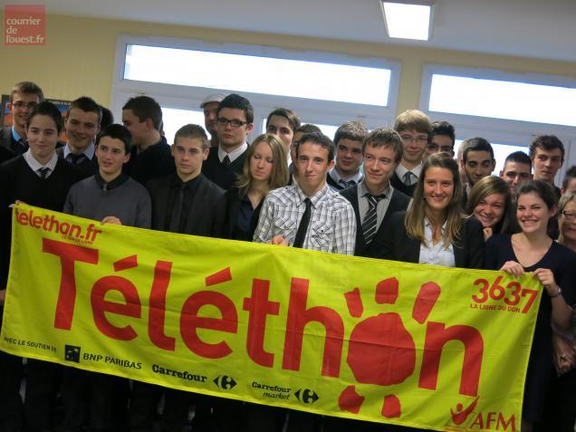 Téléthon, La Bonnauderie, Cholet