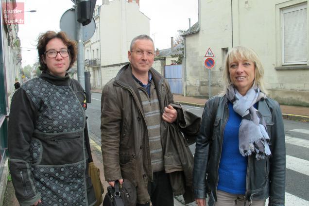 De gauche à droite : Morgane Moureaux, Dany Rosier et Isabelle Pucelle