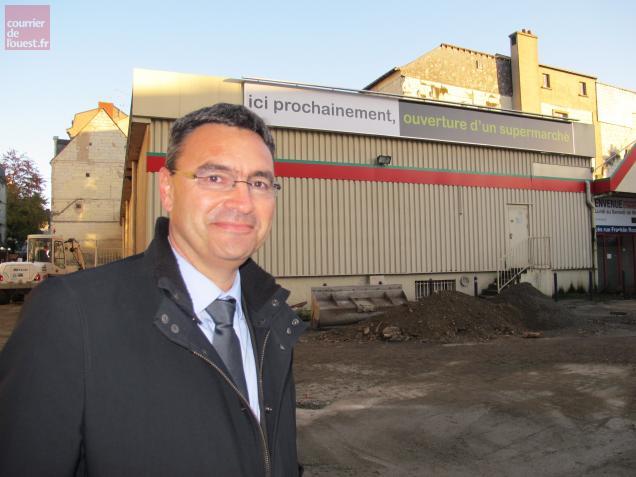 Vincent Marie, directeur de l'expansion de Carrefour Proximité pour le Grand Ouest.