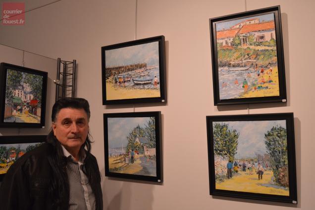 Félix Trost expose jusqu'au 8 décembre à Trélazé.