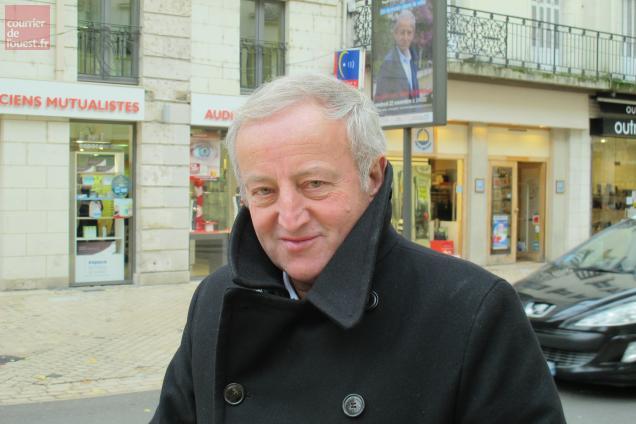 Yann Queffélec vendredi dernier à Saumur.