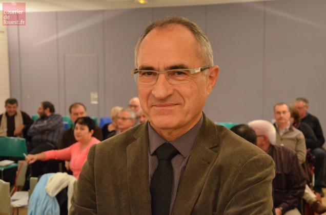 Claude Ferjou présidait ce vendredi le dernier conseil syndical du Pays thouarsais.