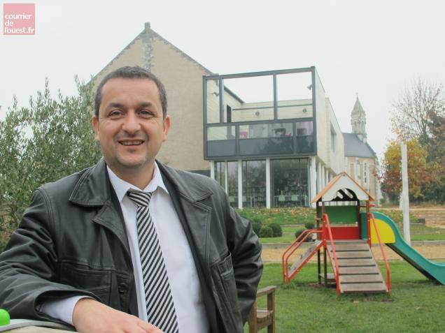 Le maire de Mazé, Christophe Pot.