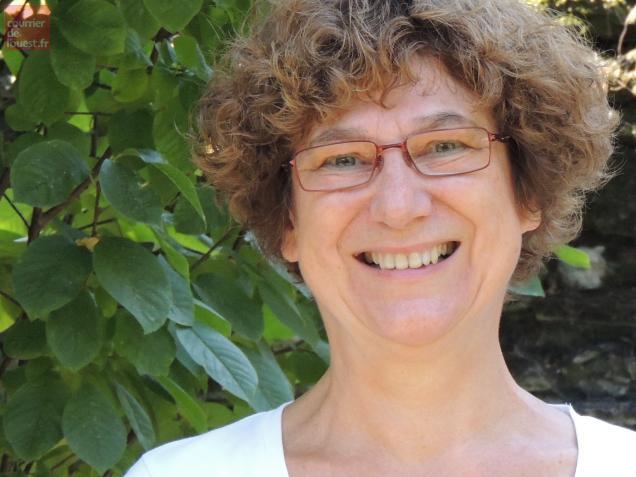Chantal Cahour, romancière.