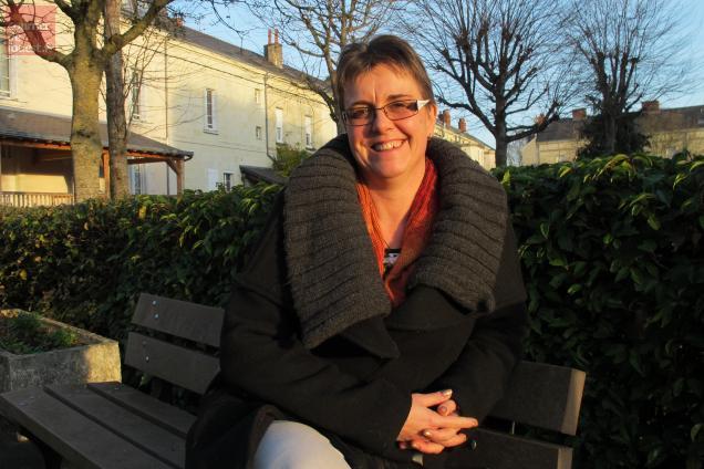 Sylvie Garel, conseillère municipale de la majorité à Saumur.